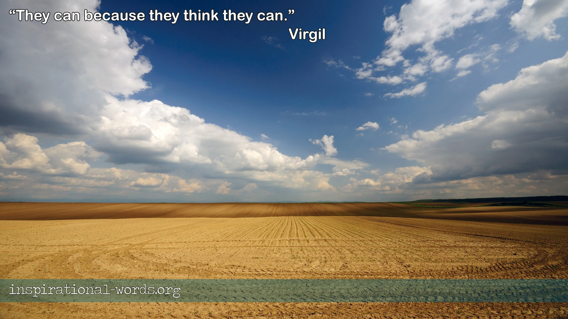 Virgil inspirational wallpaper