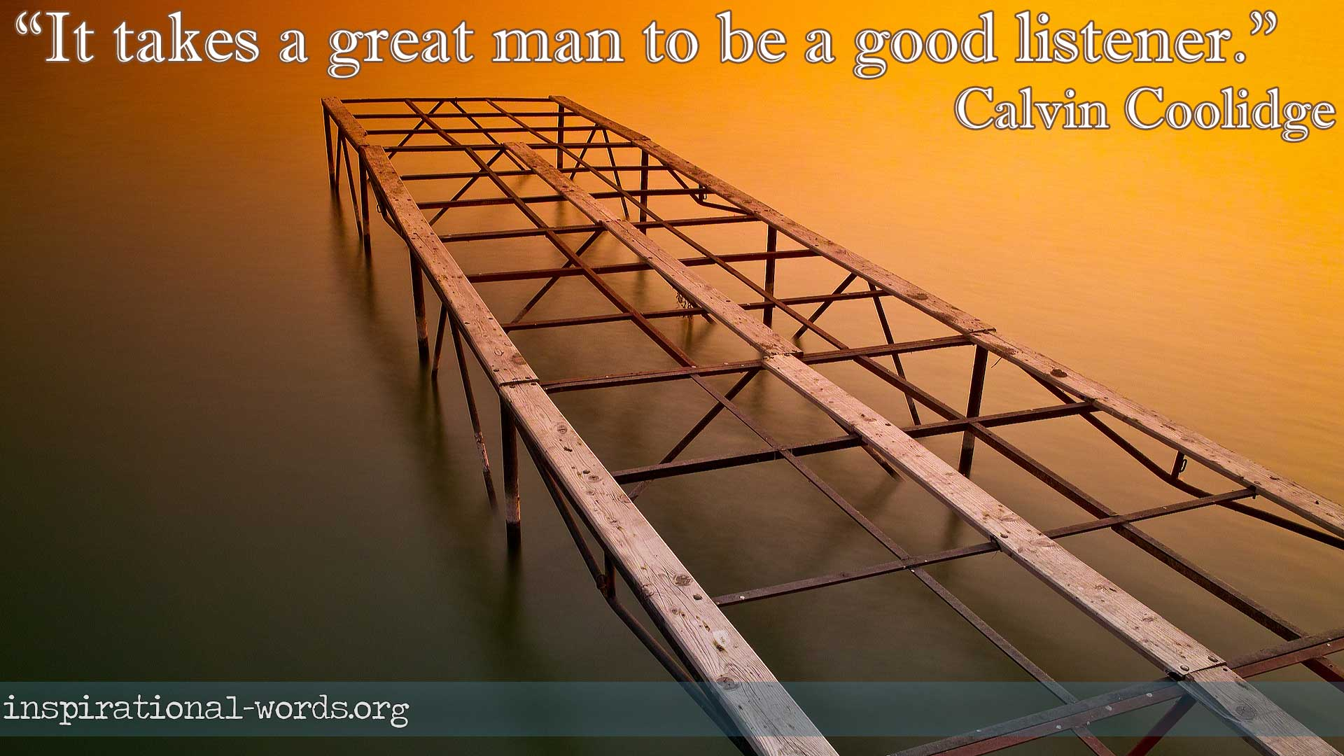 calvin coolidge inspirational wallpaper