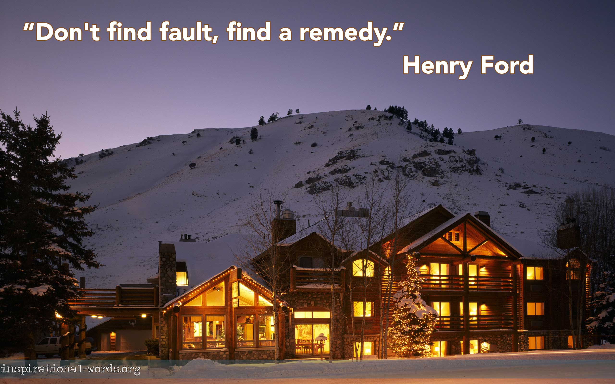 Inspirational Wallpaper Quote: Henry Ford