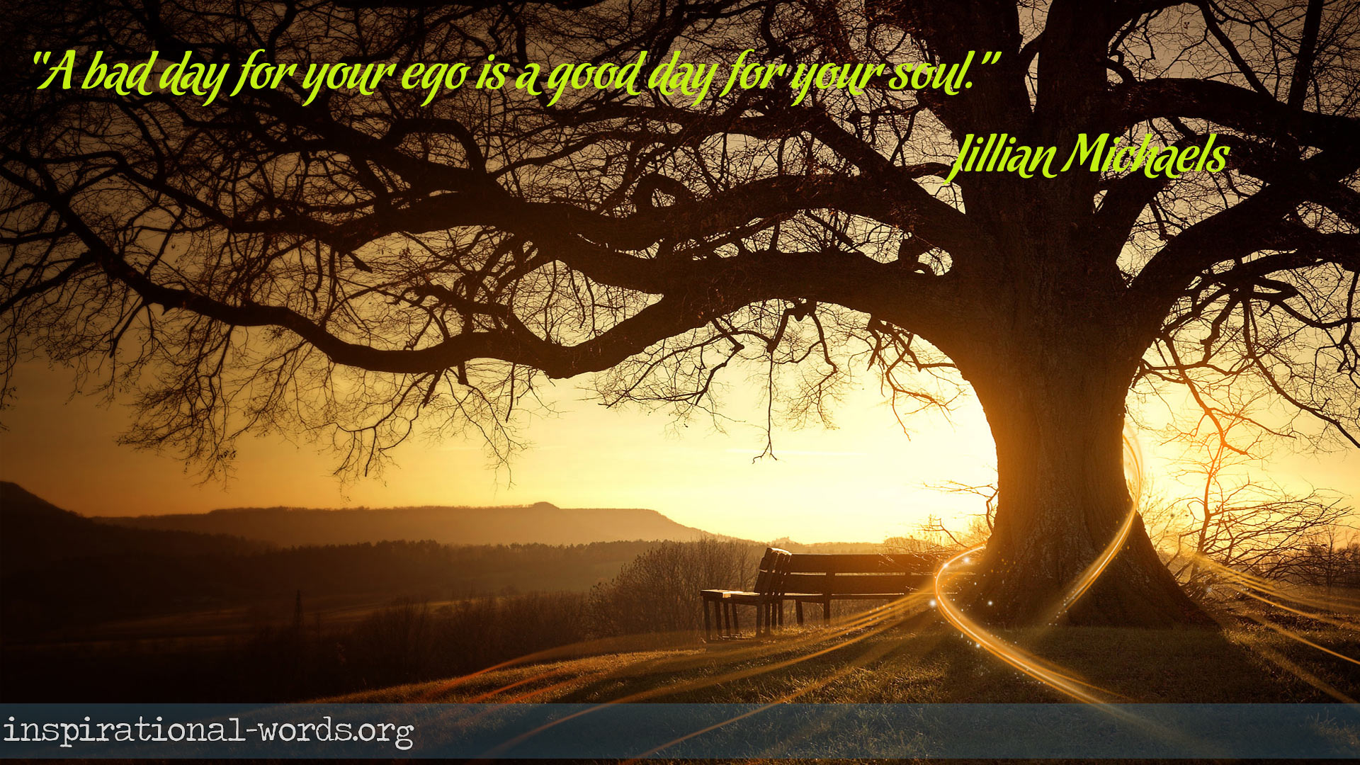 Inspirational Wallpaper Quote by Jillian Michaels