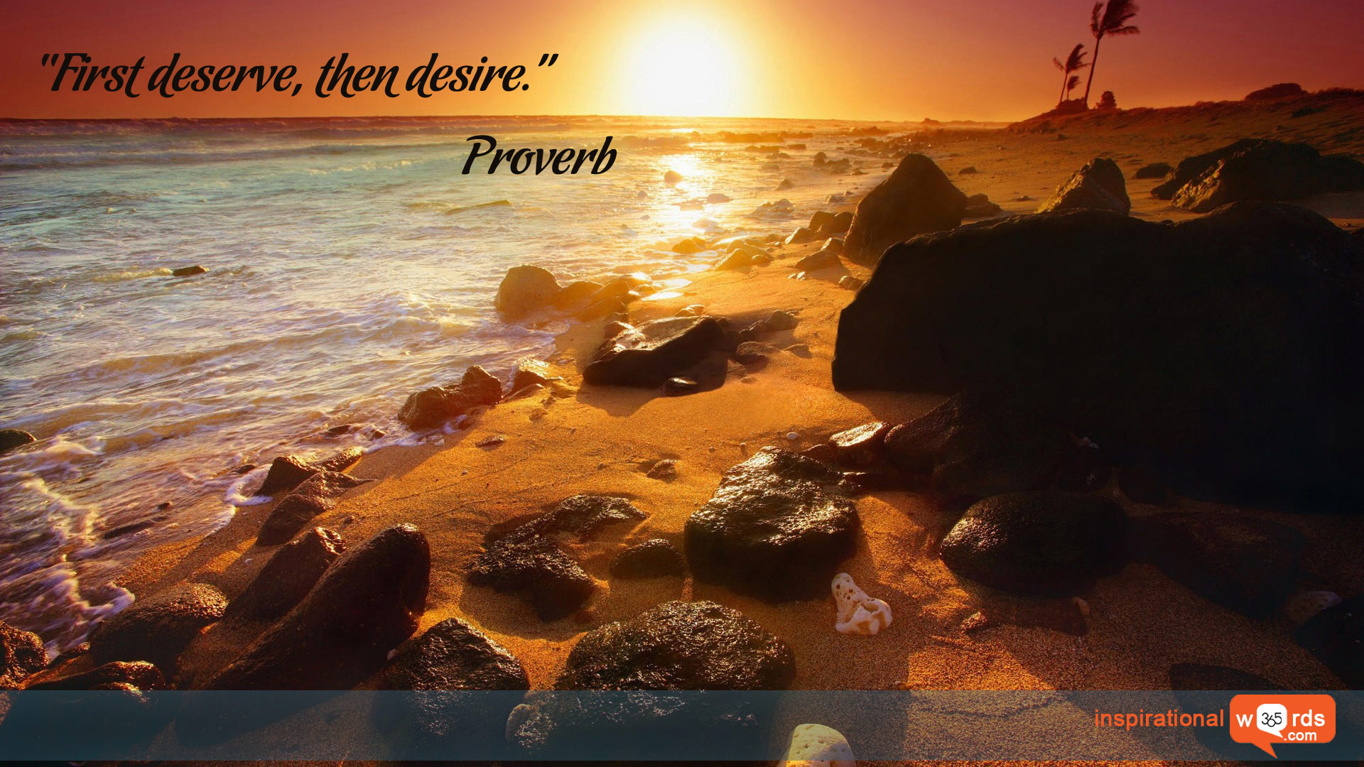 Inspirational Wallpaper Quote. Proverb