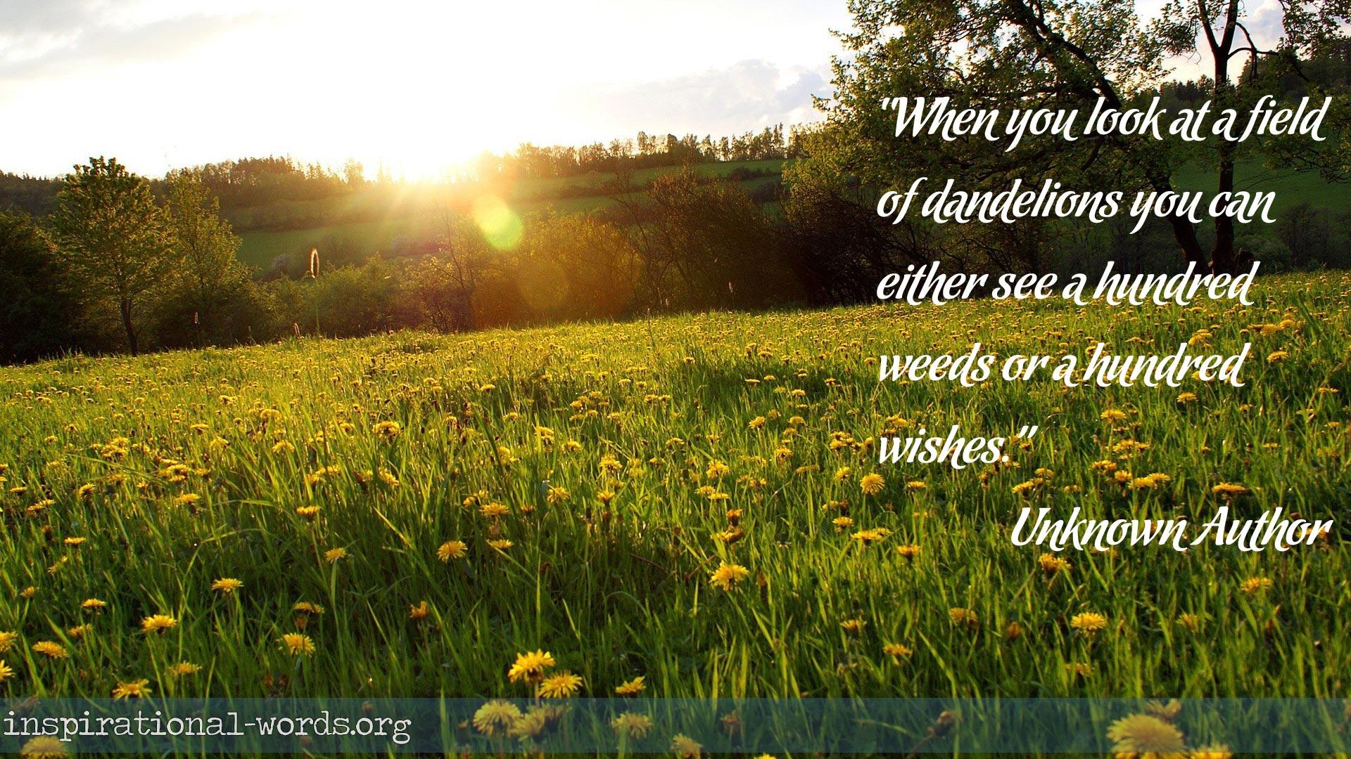 inspirational quotes unknown authors quotesgram