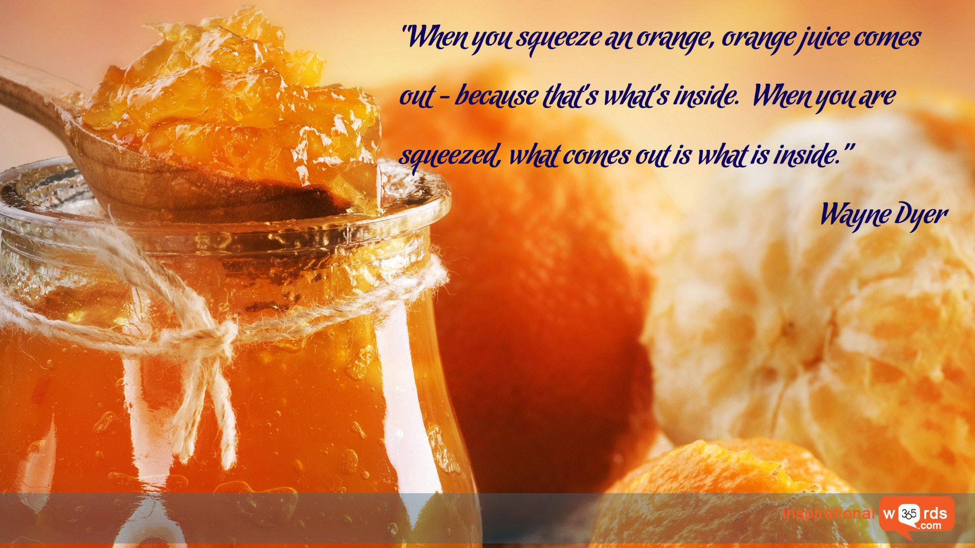 Inspirational Wallpaper Quote by Wayne Dyer