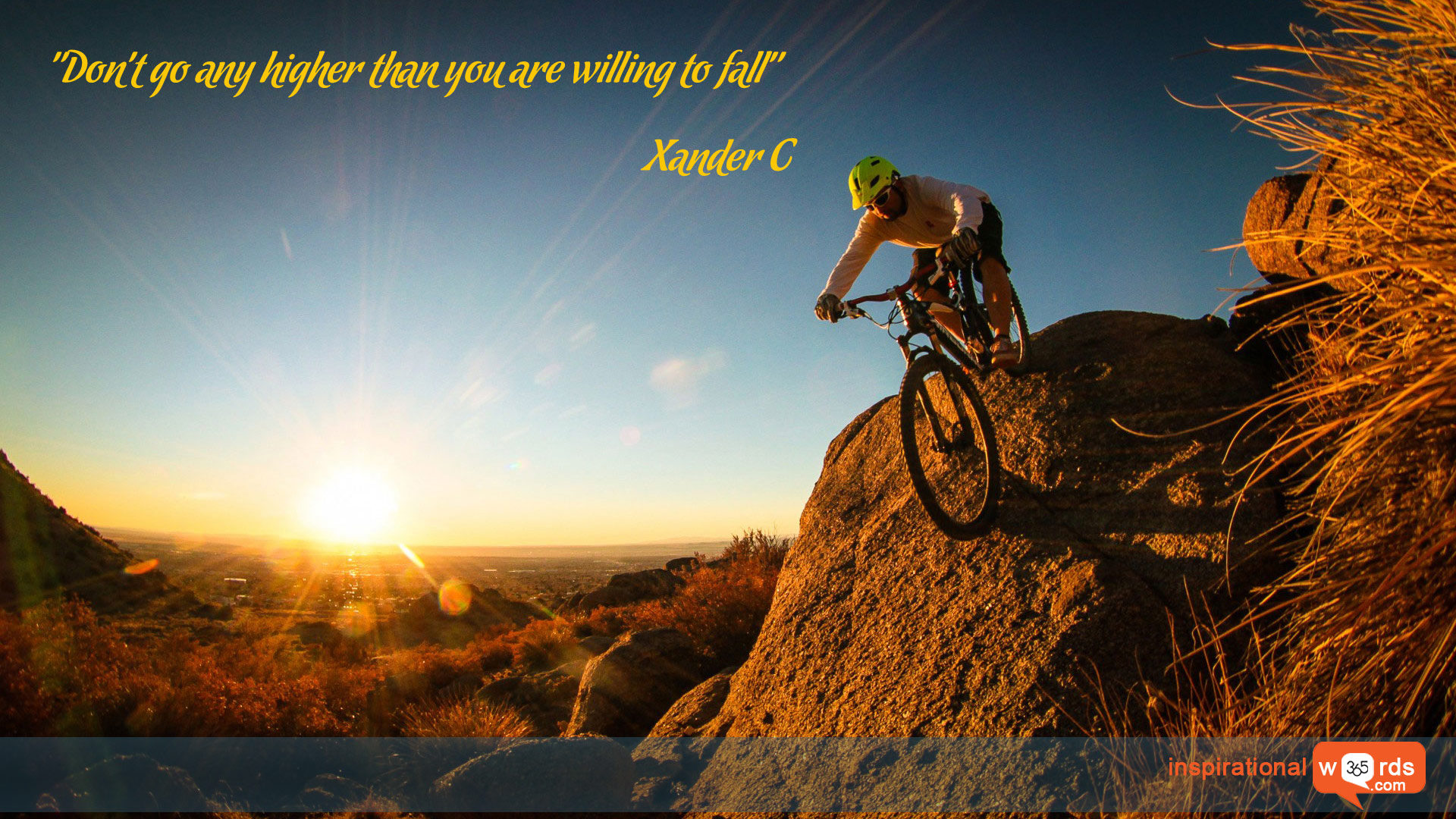 Inspirational Wallpaper Quote by Xander C