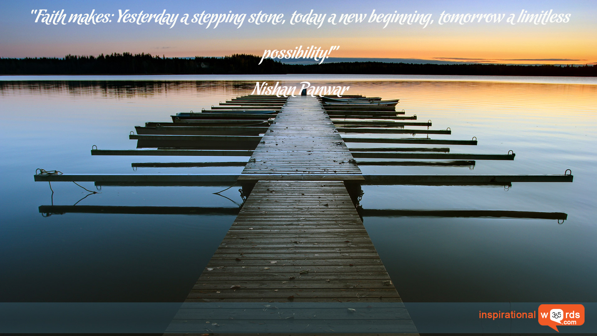 Inspirational Wallpaper Quote by Nishan Panwar