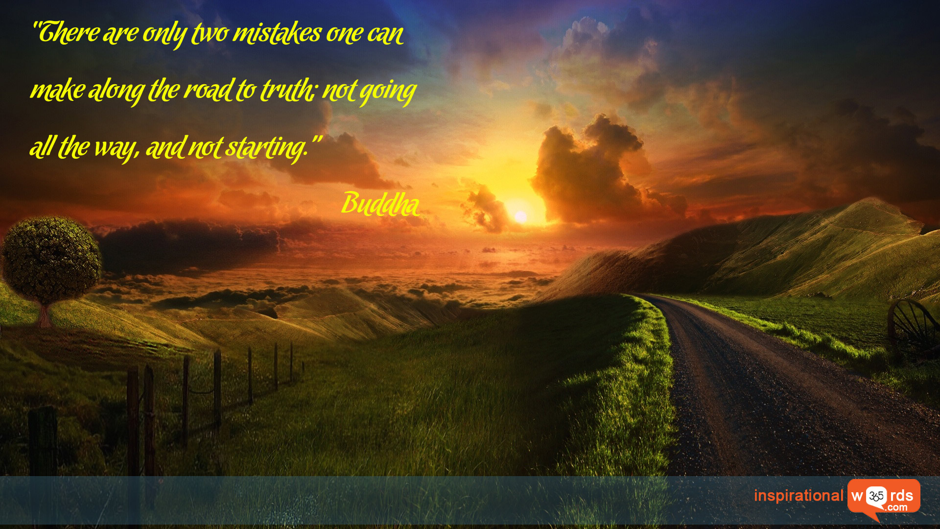 Inspirational Wallpaper Quote by Buddha
