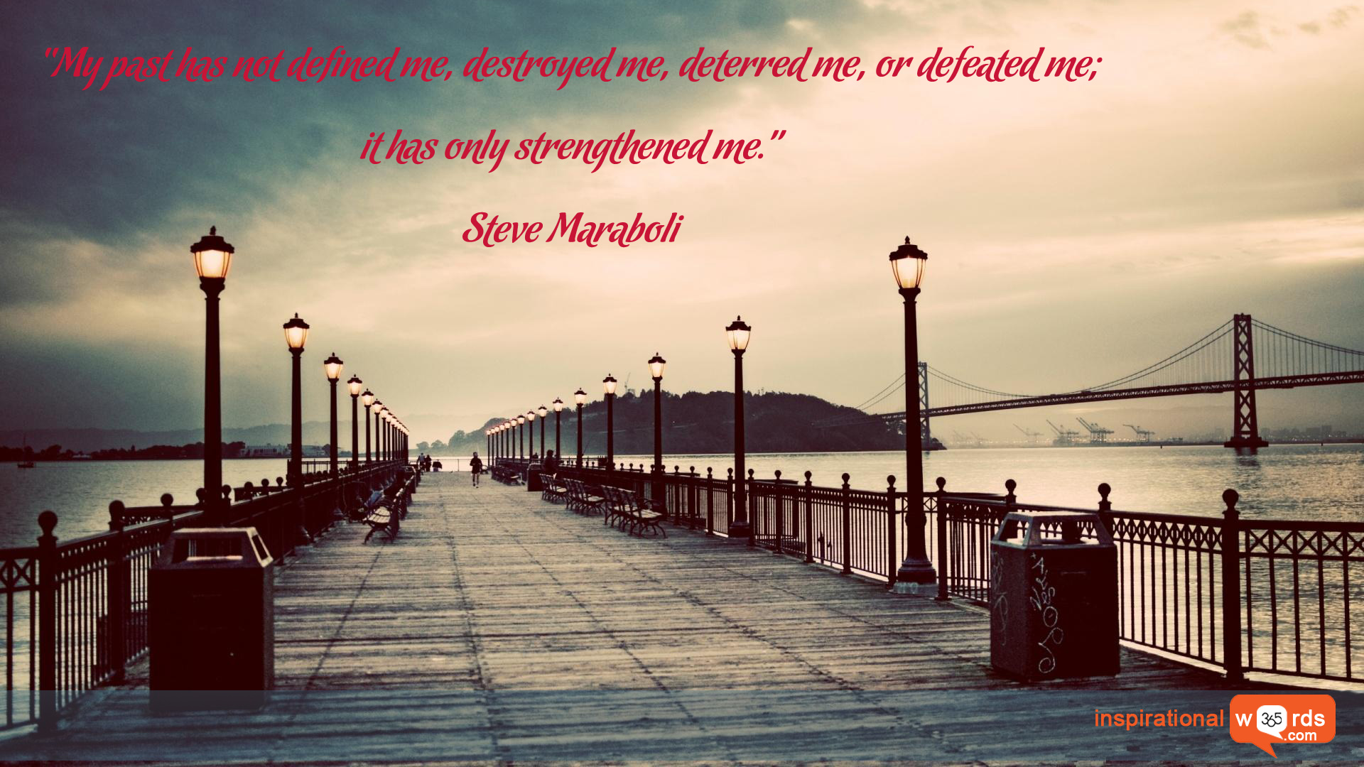 Inspirational Wallpaper Quote by Steve Maraboli