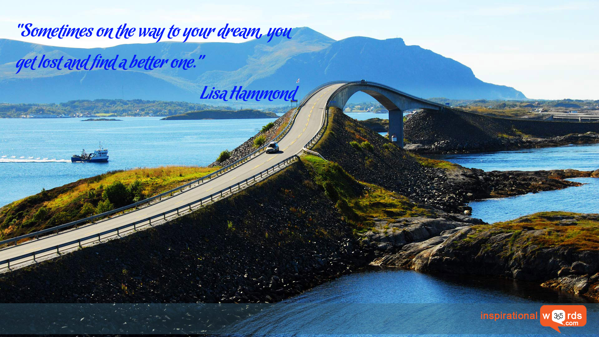 Inspirational Wallpaper Quote by Lisa Hammond