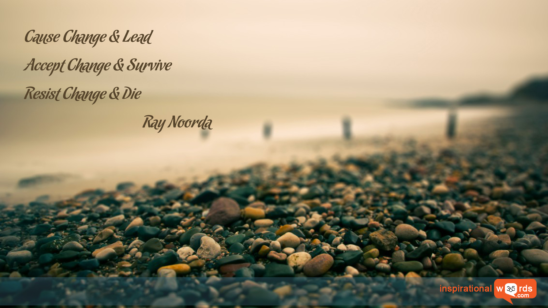 Inspirational Wallpaper Quote by Ray Noorda