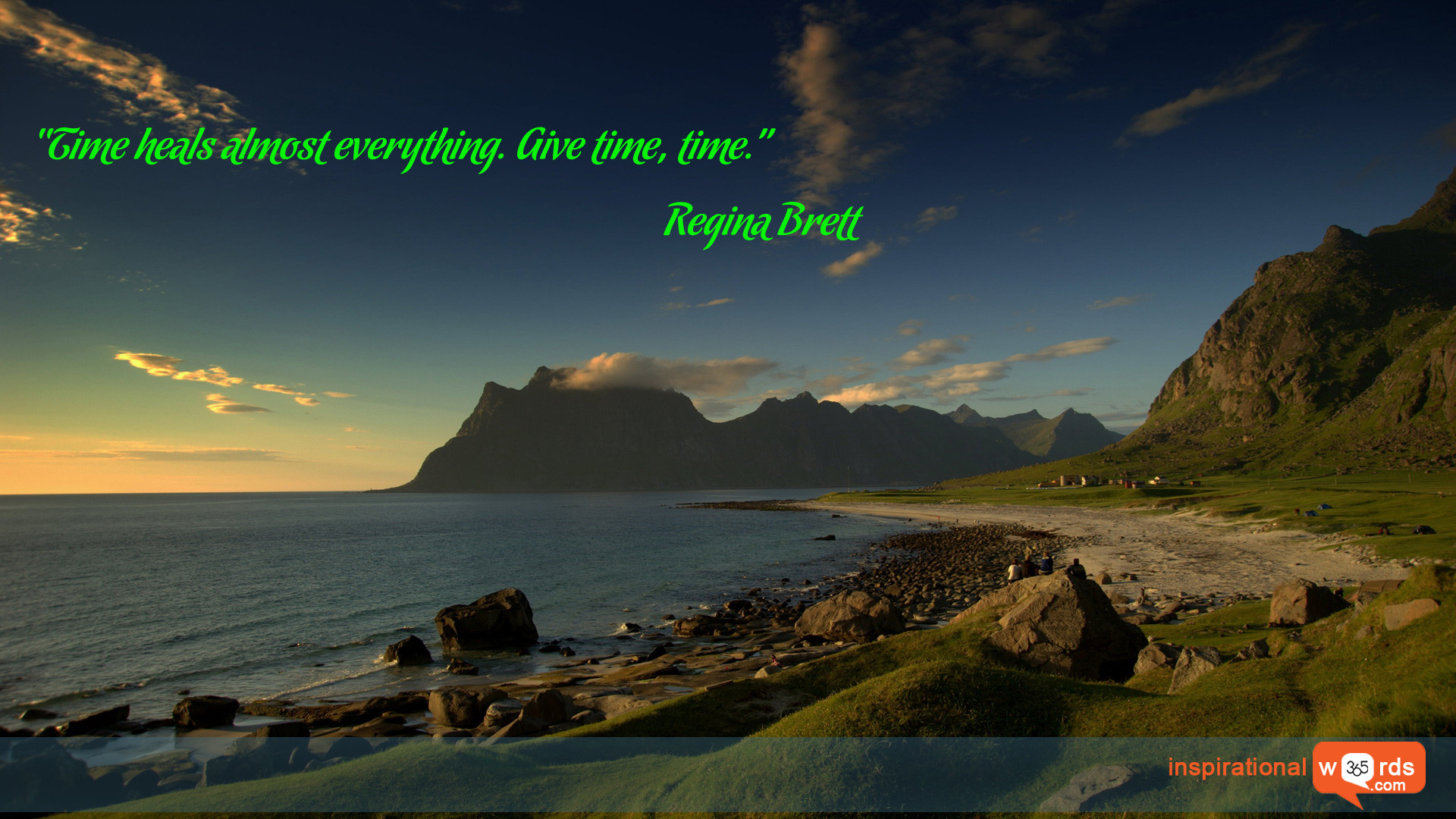 Inspirational Wallpaper Quote by Regina Brett