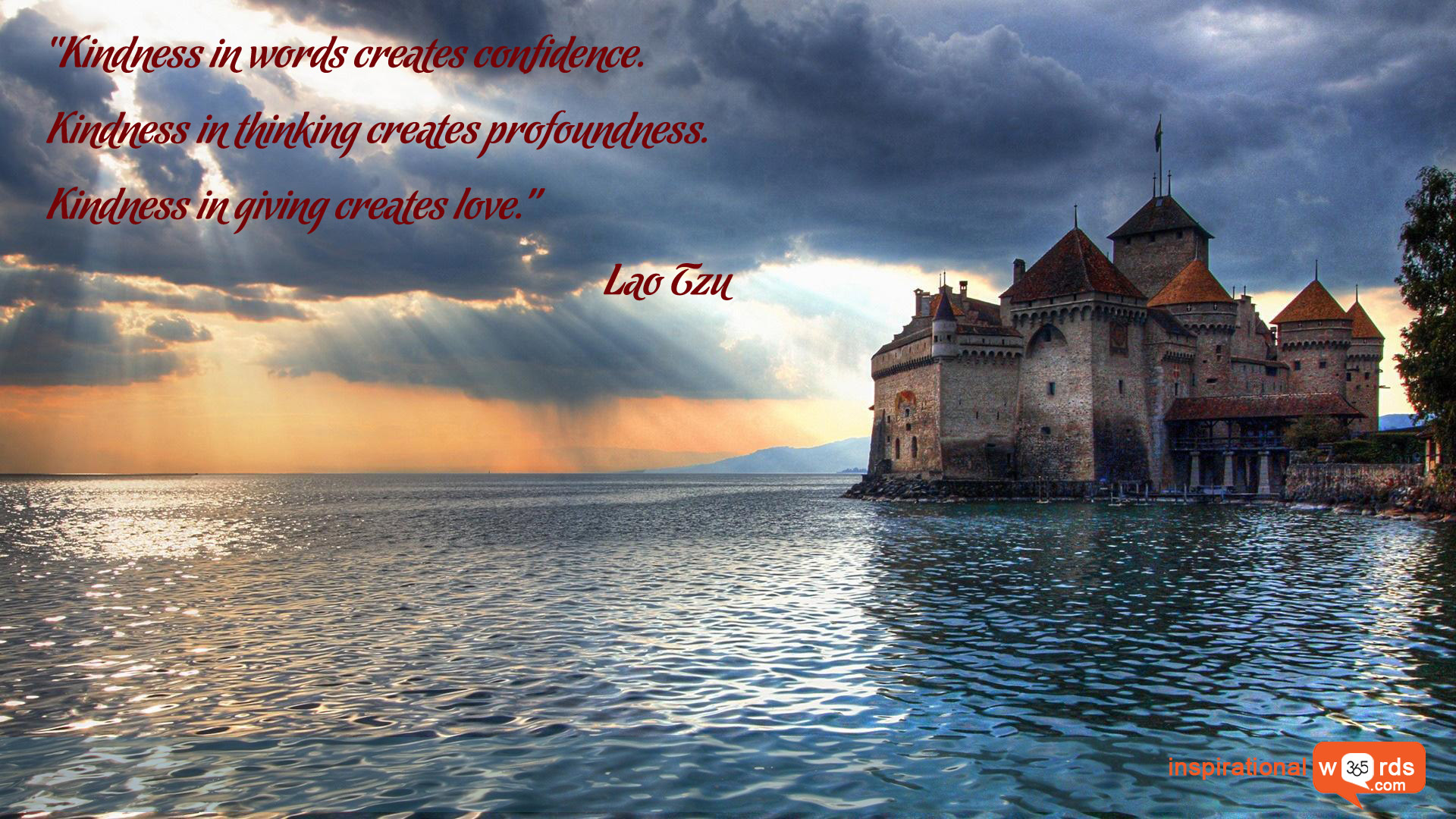 Inspirational Wallpaper Quote by Lao Tzu