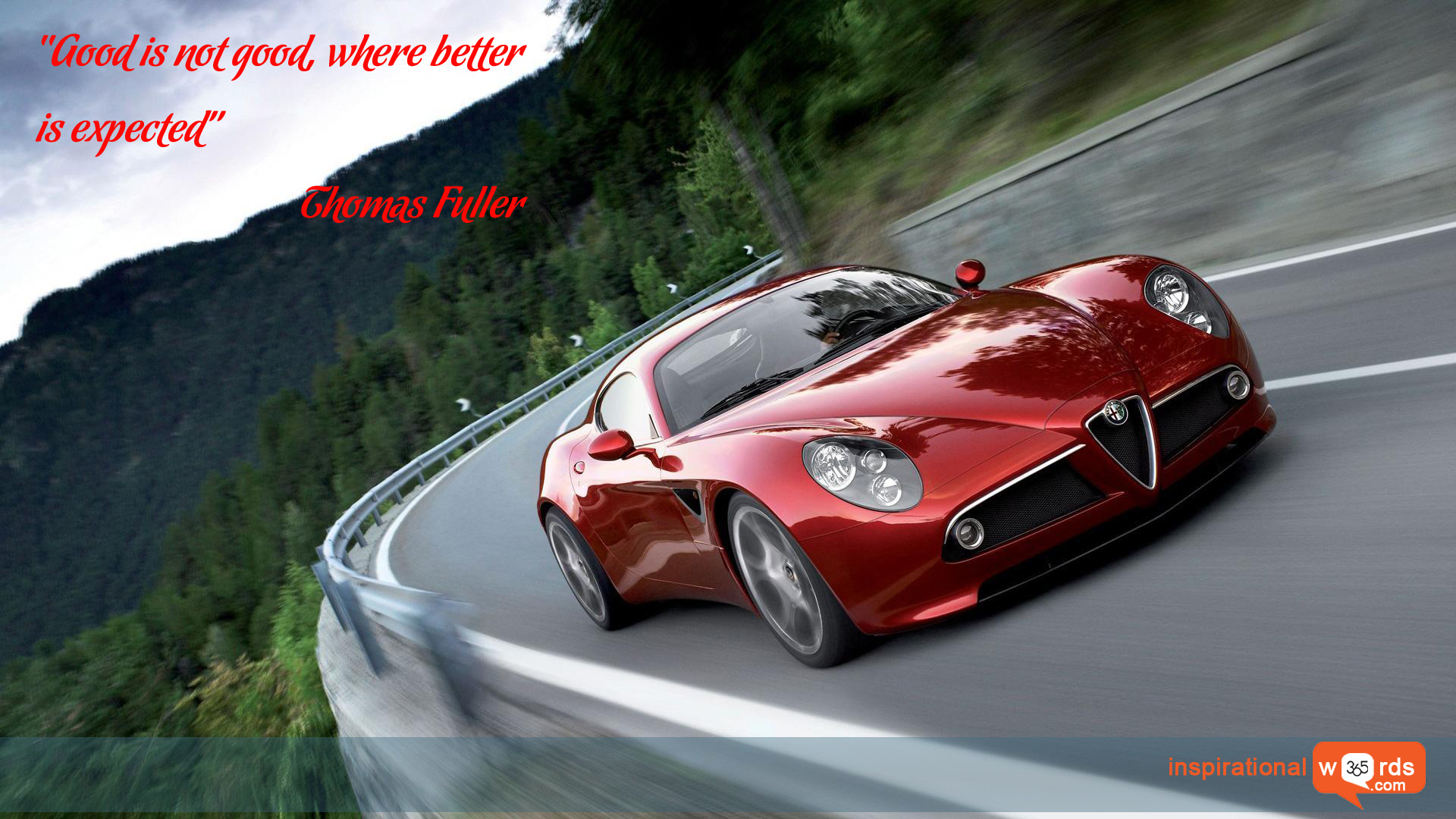 Inspirational Wallpaper Quote  by Thomas Fuller