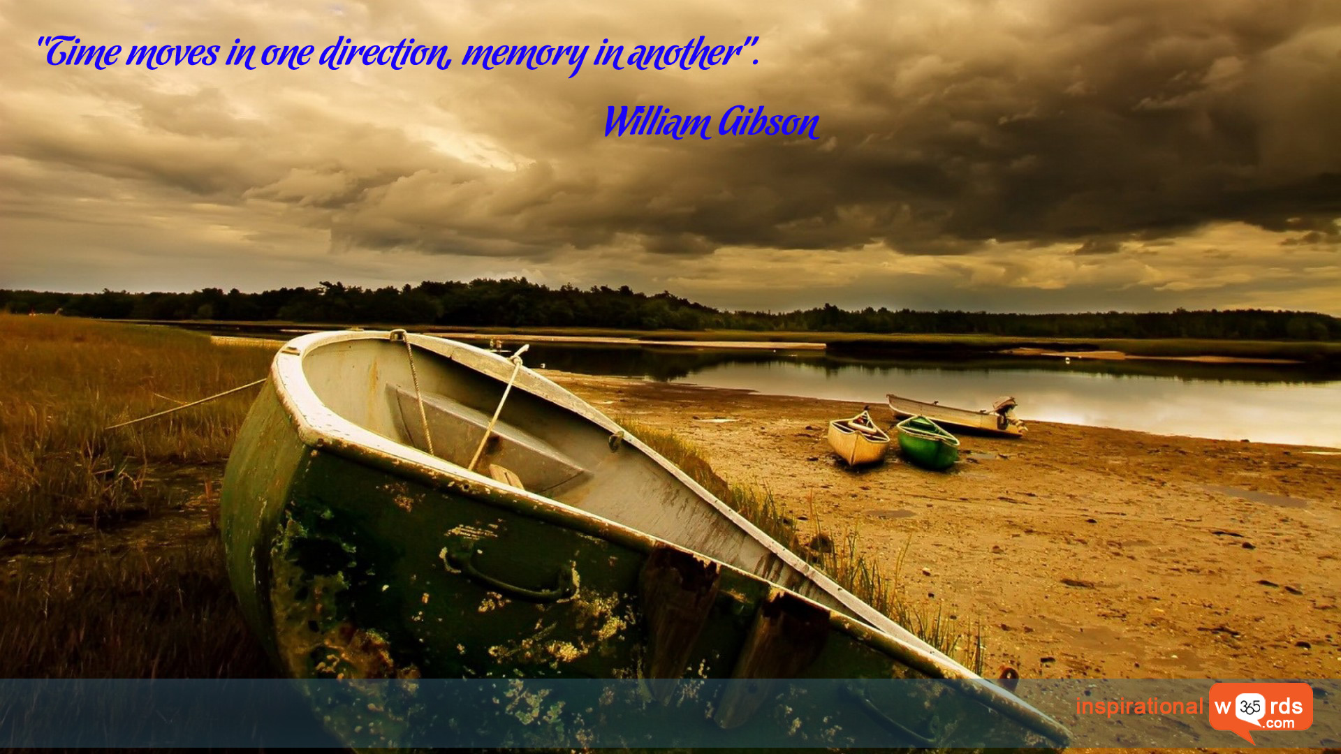 Inspirational Wallpaper Quote by William Gibson