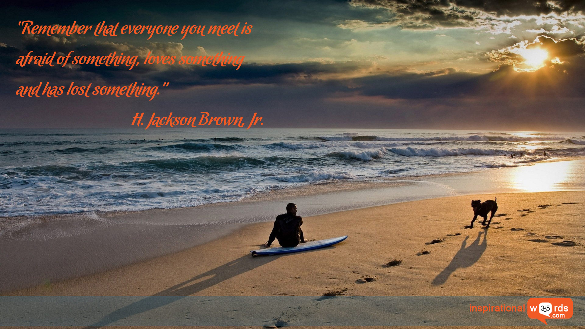 Inspirational Wallpaper Quote by H. Jackson Brown, Jr.