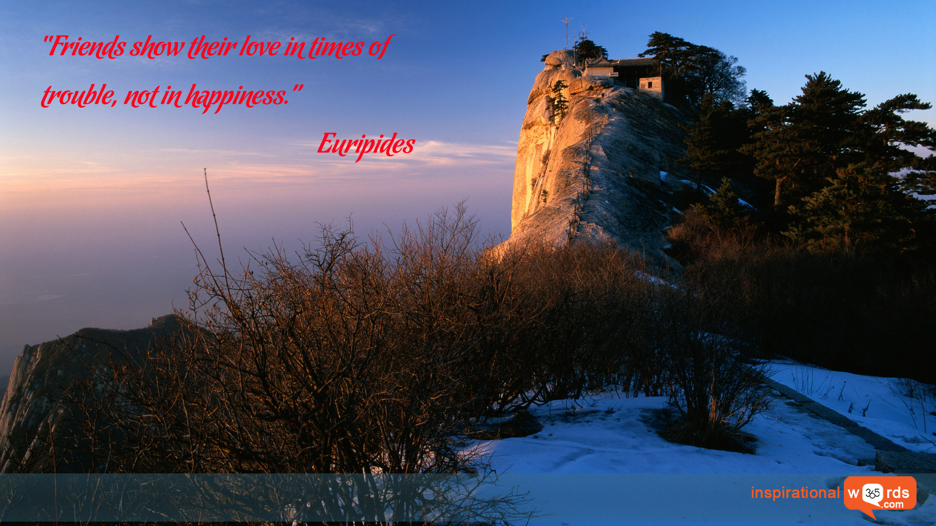 Inspirational Wallpaper Quote by Euripides