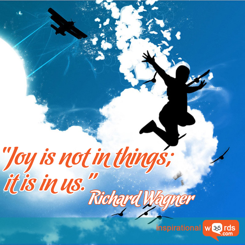 Richard-Wagner joy quotes