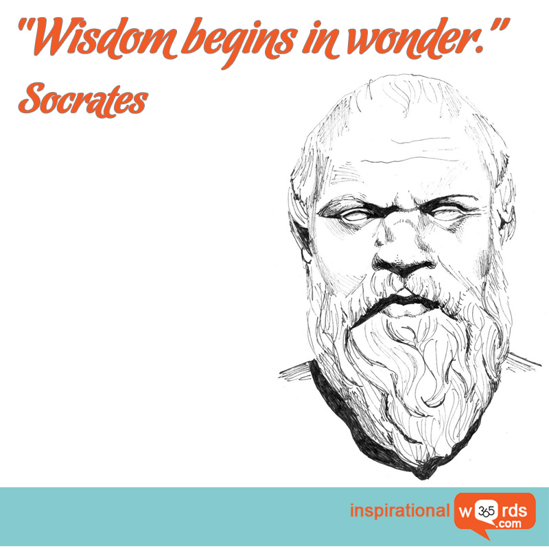 Inspirational Wallpaper Quote by Socrates