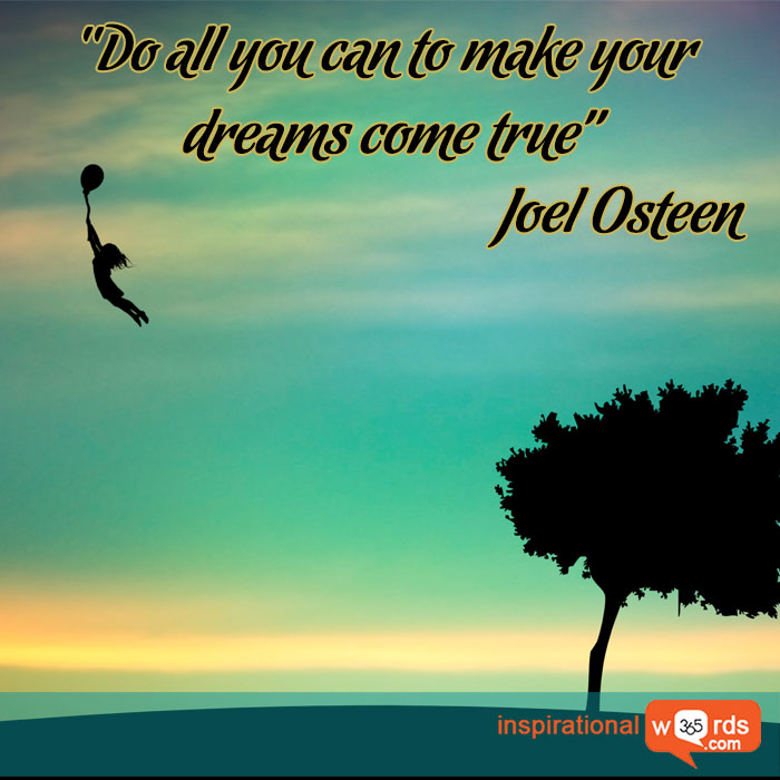 Inspirational Wallpaper Quote By Joel Osteen