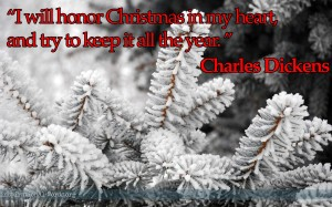 Inspirational Wallpaper Quote: Charles Dickens