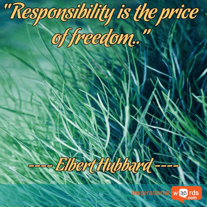 Inspirational Wallpaper Quote by Elbert Hubbard